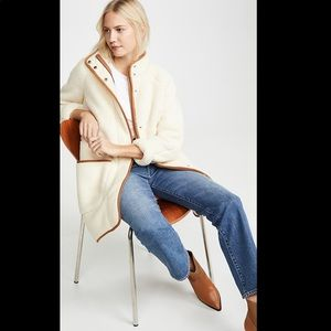 Madewell Sherpa Estate Coat XS